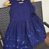 Нарядное платье George, на девочку 3 - 6,5 лет.