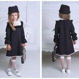платье школа. платье школьная форма, платье два цвета