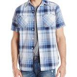 легкая летняя хлопковая рубашка Akademiks размер М