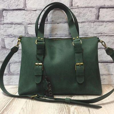 2c107ac70b5c Сумка женская кожаная зеленая: 2240 грн - сумки средних размеров в ...