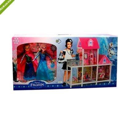 Кукольный домик Frozen с террасой 66913