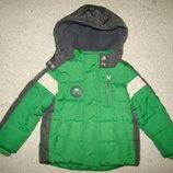 Яркая куртка TU на 1-1,5 года рост 80-86 см