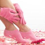 Увлажняющие SPA перчатки и носочки Гелевые, силиконовые