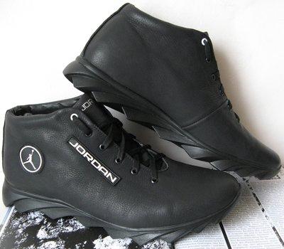 Jordan зимние кроссовки Мужские кроссовки натуральная кожа обувь мех