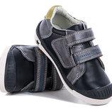 Туфли- кроссовки мальчикам, эко-кожа, р. 27 - 32