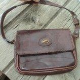 Фирмова шкіряна жіноча сумка сумочка кожа сумочка Genyine Італія .