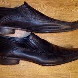 Кожаные туфли американского бренда Kenneth Cole Reaction , 45,5-46 размер