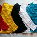 Новинка Бесшовные ажурные яркие кофточки для девочек Качество Garden Венгрия все цвета в наличии