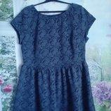 Очень красивое платье большой размер р 20 на 52-54 размер