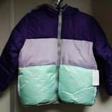 Куртка зимняя на девочку, болоневая, на флисе, с капюшоном SIMPLY STYLED