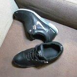 Крутые кожаные кроссовки на большую ногу 26,27,29 см