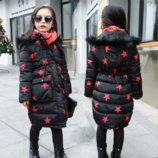 Деми куртка, пальто для девочки в наличии