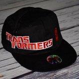 8 - 15 лет новая фирменная кепка кепи бейсболка для стильных мальчиков ransformers Трансформер