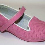 Туфельки для девочки, кожаная стелька, супинатор, 27, 29, 30, 31, 32 р-ры