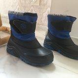 Сапоги сноубутсы ботинки зимние 28-29 размер, стелька 18,см