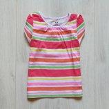 Яркая футболка для девочки. H&M. Размер 1.5-2 года. Состояние новой вещи