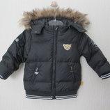 Новый куртка пуховик элитного бренда Steiff. Оригинал. разм. 80-86см
