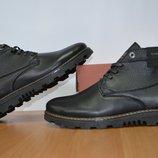 качественные мужские зимние ботинки на молнии