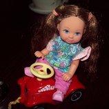 Кукла Еви Simba Симба с машинкой