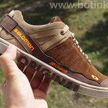 SALOMON мужские кроссовки коричневые