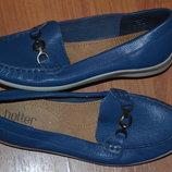кожанные туфли hotter comfort concept