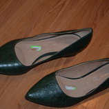 бесподобные кожаные туфли next