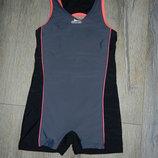 Slazenger серый купальник с шортами для плавания 140 см