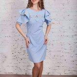 Шикарные женские платья к празднику 42-44 и 46-48 размера, 3 модельки