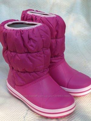 1fa55d09454c Winter Puff Boot Сапоги Крокс оригинал детские  950 грн - зимняя ...