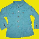 Яркий джинсовый плащик на 4-5 лет,рст 110 см,H&M