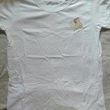 Белая футболка, 44 размер
