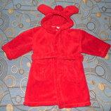Махровый халат с ушками Next 2-3 года