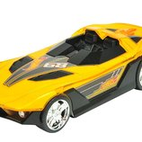 Toy State Hot Wheels Машинка гонка 25 см Супер гонщик Hyper Racer Light and Sound Yur So Fast 90531