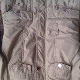 Распродажа нашего гардероба Качественная куртка девочке р.134-146