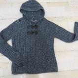 свитер -худи L на наш 44-46р