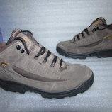 Фирменные Прочные Ботинки Натуральная Кожа~ HI-TEC~ р 38