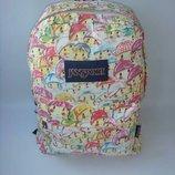 Школьный рюкзак, плотный холст.