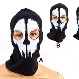 Подшлемник балаклава маска Скелет 4825 хлопок, 3 вида