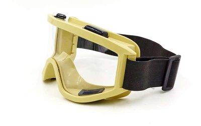 Очки тактические с прозрачными линзами 908K-2 мотоочки оливковый цвет