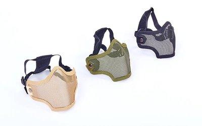 Маска защитная пол-лица из стальной сетки для пейнтбола CM01 3 цвета