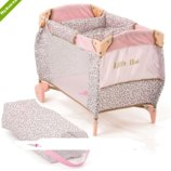 Кровать манеж для куклы HAUCK By Little Diva D-90186
