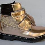 Демисезонные ботинки на девочек Jong Golf
