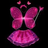 Костюм принцесса Фея Бабочка 6 расцветок