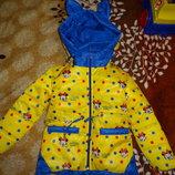 Демисезонная куртка,размер 98/104