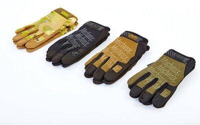 Перчатки тактические с закрытыми пальцами Mechanix 5623 размер M-XL, 3 цвета