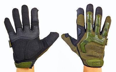 Перчатки тактические с закрытыми пальцами Mechanix 4698 размер L-XL, камуфляж