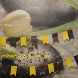 Растяжки-Гирлянды флажки на прочной капроновой нитке с материала резина