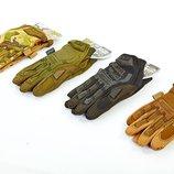 Перчатки тактические с закрытыми пальцами Mechanix 5622 размер M-XL, 4 цвета