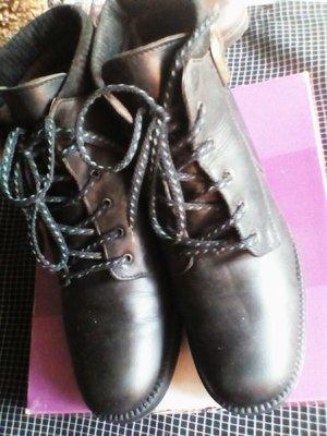 Ботинки кожаные из Европы
