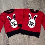 Стильный ангоровый свитер George на 5-6 лет. Сша.